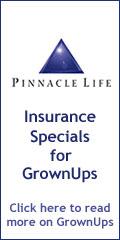 Pinnacle Life - Insurance Specials on GrownUps