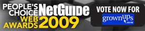 Vote for GrownUps in the 2009 NetGuide People's Choice Awards