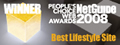 NetGuide People's Choice Award 2008 - Best Lifestyle Website